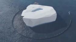 UAE: Triệu phú đô la bạo chi kéo tảng băng khổng lồ về cho 10 triệu dân dùng cả năm