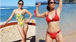 Nữ ca sĩ U50 từng trải qua 3 đời chồng bất ngờ khoe dáng với bikini