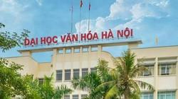 Điểm chuẩn Đại học Văn hóa Hà Nội 2019 xét theo học bạ