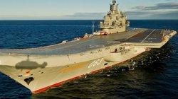 Quân sự thế giới: Uy lực đáng nể tàu sân bay mới của Nga