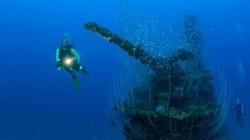Hai xác tàu đắm từ thời Thế chiến 2 biến mất bí ẩn dưới đáy biển