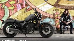 Xe côn tay Honda Rebel 300 mới về Việt Nam, giá không đổi