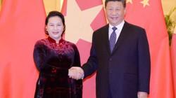 Chủ tịch QH hội kiến Tổng Bí thư, Chủ tịch Trung Quốc Tập Cận Bình