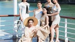 Dàn thí sinh Miss World VN diễn thời trang dưới cái nắng cực độ