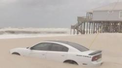 """Đỗ xe gần bãi biển trong vài phút, quay lại tá hỏa nhận ra xe mình bị cát """"chôn sống"""""""