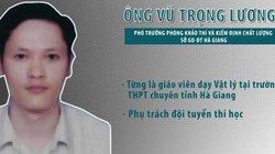 Tòa trả hồ sơ vụ án gian lận, nâng điểm thi ở Hà Giang