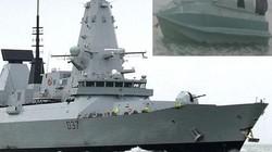 """""""Tàu bom"""" phe Iran chờ sẵn gần tuyến đường tàu chiến Anh đi tới vùng Vịnh?"""