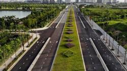 Ảnh, clip: Toàn cảnh tuyến đường 627m nối 3 quận nội thành Hà Nội