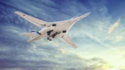 """""""Thiên nga trắng"""" Tu-160 Nga sải cánh trên biển Baltic"""