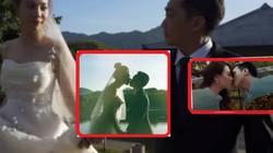 """""""Đỏ mặt"""" vì Cường Đô la liên tiếp """"khóa môi"""" Đàm Thu Trang trước đám cưới"""
