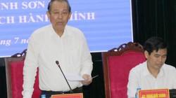 Phó Thủ tướng Trương Hòa Bình kiểm tra công tác cải cách hành chính tại Sơn La