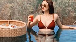 Á hậu Hà Thu diện bikini nóng bỏng khám phá Bali