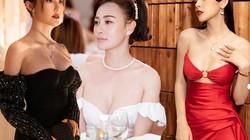 """Mặc váy trễ quyến rũ như Chi Pu, """"Quỳnh búp bê""""..."""