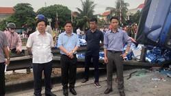 """Tai nạn ở Hải Dương: Bộ trưởng Nguyễn Văn Thể chỉ đạo """"nóng"""""""