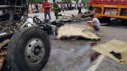 Khoảnh khắc xe tải đè chết 5 người ở Hải Dương