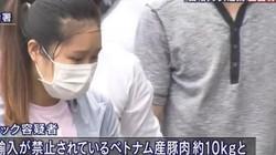 Nữ du học sinh Việt bị bắt vì đem nem chua mắc dịch tả châu Phi vào Nhật