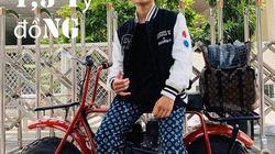 Chàng trai dát kín người quần áo hàng hiệu 1,1 tỷ đồng đi chợ Sài Gòn