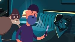 Những kế sách xử trí khi có trộm manh động đột nhập vào nhà