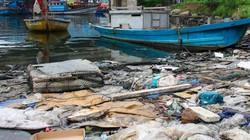 """Dân """"than trời"""" vì ô nhiễm ở cảng cá lớn nhất miền Trung"""