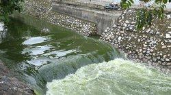 """""""Chốt"""" tranh luận xả nước hồ Tây cuốn trôi thí nghiệm sông Tô Lịch"""