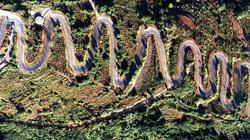 Lạnh người đi trên tuyến đường 68 khúc cua men theo triền núi