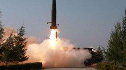 Triều Tiên phóng tên lửa tầm ngắn ra biển Nhật Bản