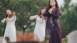 Nữ ca sĩ thực hiện MV kỷ niệm 27/7 tại nghĩa trang liệt sĩ Đường Chín