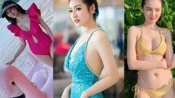 """4 mỹ nhân đẹp tựa nữ thần sau sinh: Thanh Tú, """"Mỹ nữ Vũng Tàu đi xe 70 tỷ""""..."""