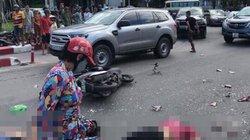 Xe khách gây tai nạn kinh hoàng trên cầu Bãi Cháy, 5 người nhập viện