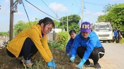 Ảnh: Hàng trăm người trồng cây quanh làng kỷ niệm ngày 27/7