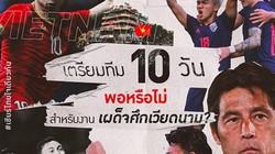 """Thái Lan lên """"dây cót"""" tinh thần trước đại chiến với Việt Nam"""