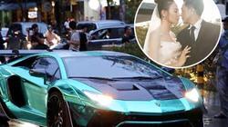 Dàn siêu xe đổ bộ tiệc cưới Cường Đô La hút mọi sự chú ý