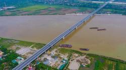 Ảnh, clip: Toàn cảnh cây cầu gần 3.000 tỷ đồng nối 2 cao tốc