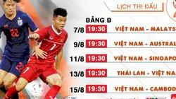 Xem trực tiếp giải U18 Đông Nam Á 2019 trên kênh nào?