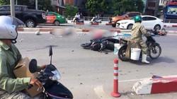 Xe giường nằm húc tung 12 xe máy và 2 ô tô, nhiều người thương vong