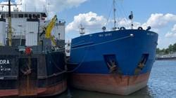 Ukraine bắt giữ tàu Nga đã từng chặn tàu Ukraine ở eo biển Kerch