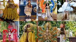 """""""Bàn thờ"""", """"Sơn Tinh - Thủy Tinh"""" trượt top 3 trang phục dân tộc cho Hoàng Thùy tại Miss Universe 2019"""