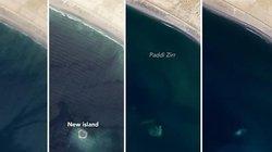 """Hòn đảo trồi lên sau thảm họa, bị đại dương """"nuốt chửng"""" ngoài khơi Pakistan"""