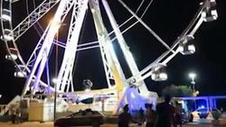 Người đàn ông cởi quần áo, khỏa thân nhảy từ bánh xe cao 45m xuống đất