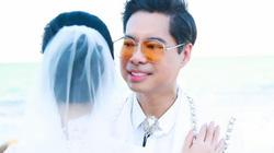 49 tuổi, Ngọc Sơn bất ngờ tung loạt ảnh làm chú rể bên cô dâu giấu mặt