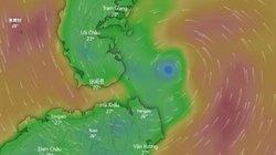 Khi nào bão số 3 đổ bộ đất liền và những tỉnh nào nằm trong tâm bão?