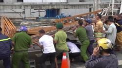 Cổng SaiGon One Tower đổ sập, 1 phụ nữ thoát chết trong gang tấc