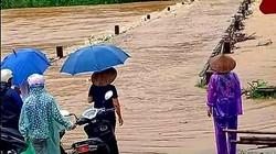 Lạng Sơn: Mưa lớn gây ngập cầu, nhiều thôn bản bị cô lập