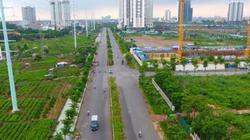 Toàn cảnh tuyến đường nối hai vành đai dài 2,6km dang dở sau 5 năm