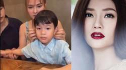 Thu Thủy lên tiếng khi chồng trẻ Kin Nguyễn bị chỉ trích bạo hành con trai Henry