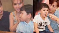 """Chồng kém 10 tuổi của Thu Thủy bị tố """"cấu tay con riêng của vợ ngay trong livestream"""""""