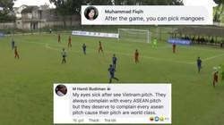 """U18 Đông Nam Á 2019: CĐV ĐNÁ """"kêu trời"""" với sân bãi Việt Nam"""