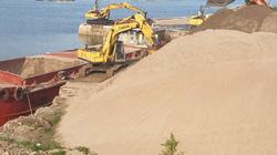 Hạ Long: Bến bãi cát, sỏi trái phép hoạt động mạnh hơn sau lệnh cấm