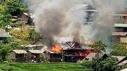 Đốt rác cháy nhà, thiệt hại hơn 400 triệu đồng