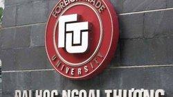 Điểm chuẩn đại học 2019: Điểm chuẩn trường Đại học Ngoại Thương